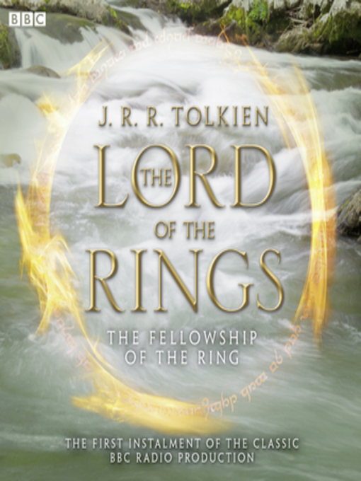Title details for The Lord of the Rings, the Fellowship of the Ring by J.R.R. Tolkien - Wait list