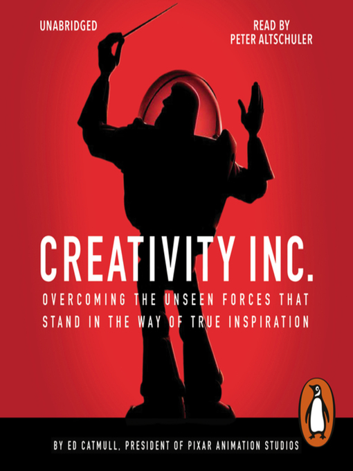 Title details for Creativity, Inc. by Ed Catmull - Wait list