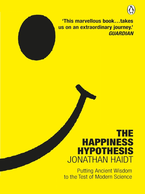 Title details for The Happiness Hypothesis by Jonathan Haidt - Wait list