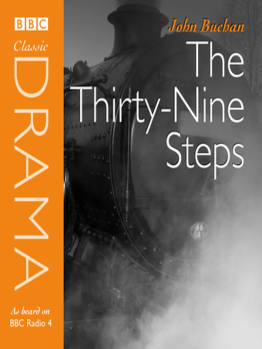 classic drama the thirty nine steps dramatised