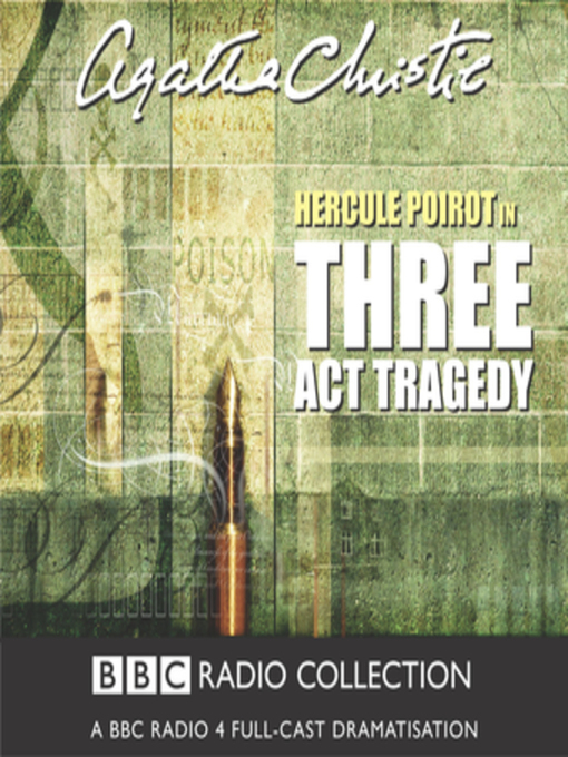 Title details for Three Act Tragedy by Agatha Christie - Wait list