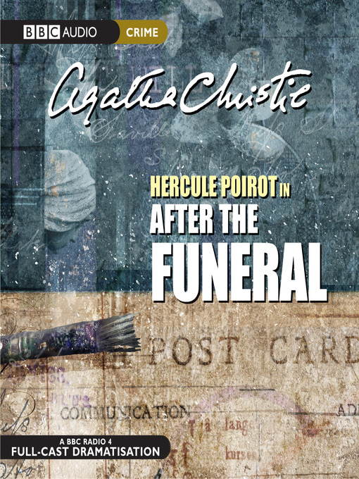 Title details for After the Funeral by Agatha Christie - Wait list