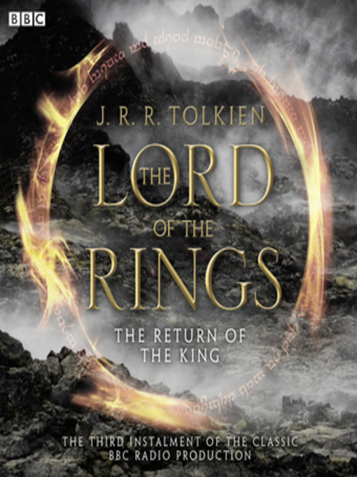 Cover of The Lord of the Rings, The Return of the King