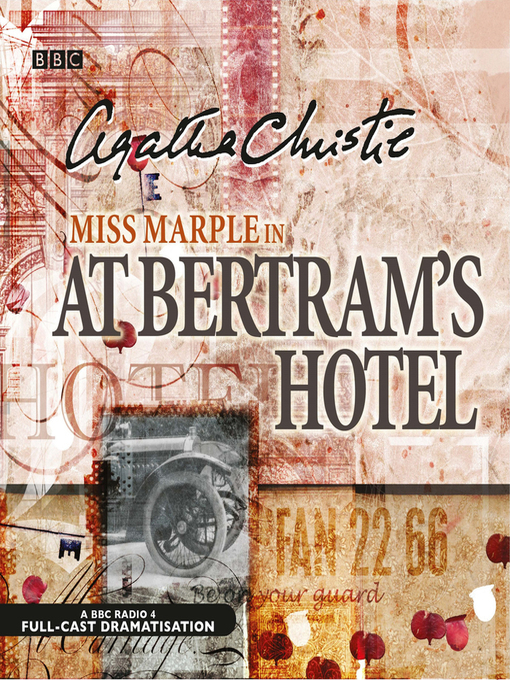 Title details for At Bertram's Hotel by Agatha Christie - Wait list