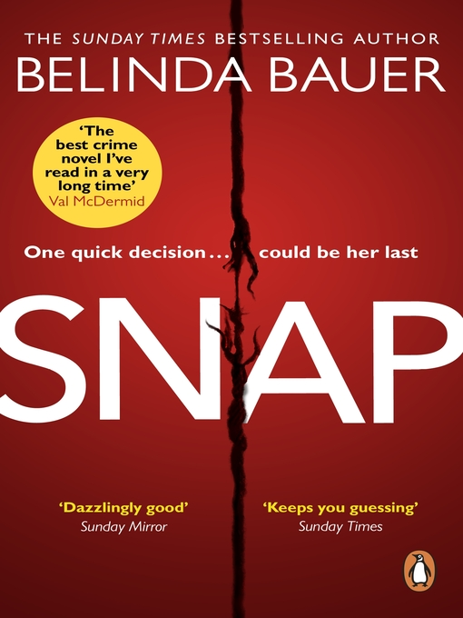 Title details for Snap by Belinda Bauer - Available