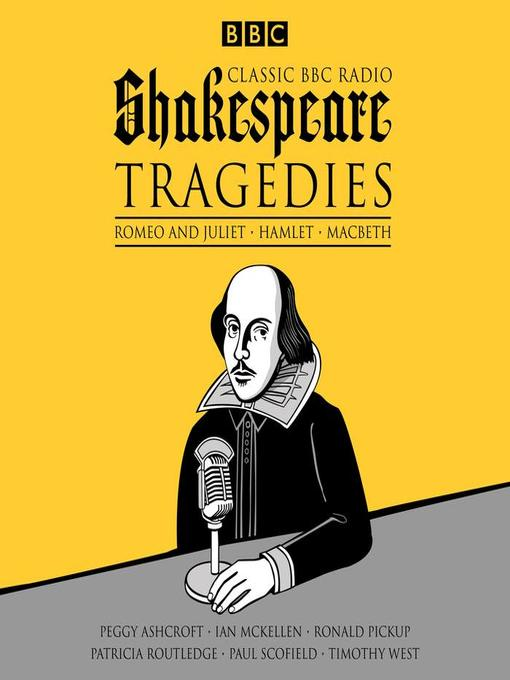 william shakespeare tragedies list
