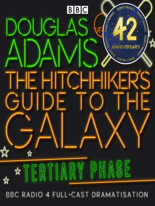 Cover image for Hitchhiker's Guide to the Galaxy: The Tertiary Phase