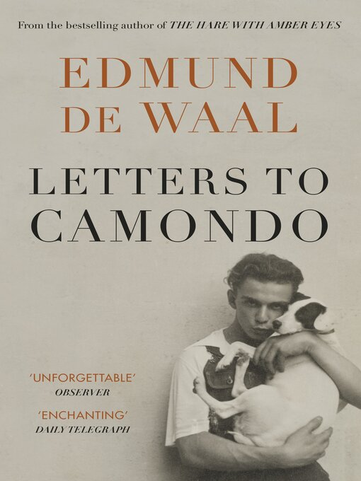Title details for Letters to Camondo by Edmund de Waal - Available