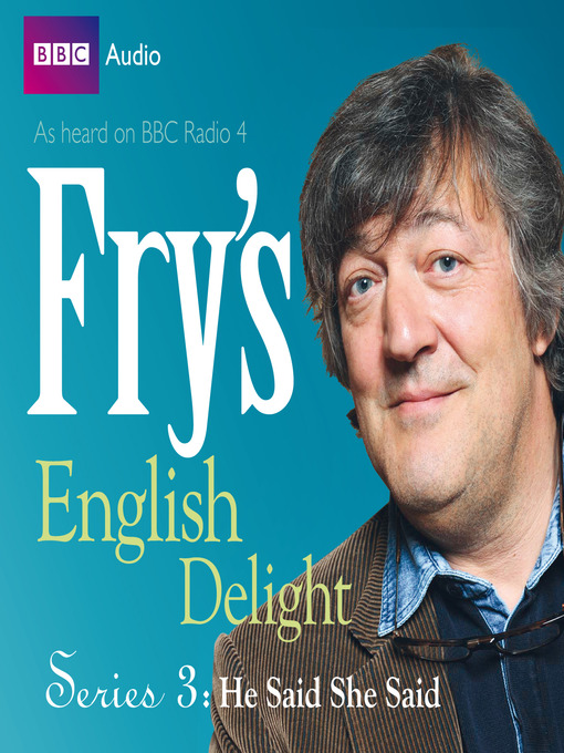 Title details for He Said, She Said by Stephen Fry - Wait list