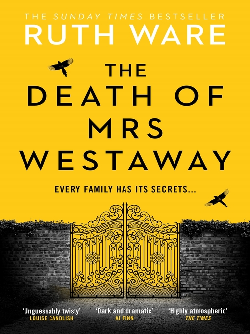 Title details for The Death of Mrs Westaway by Ruth Ware - Available