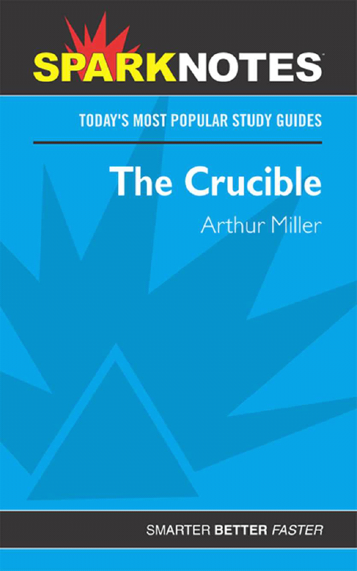 Title details for The Crucible (SparkNotes) by SparkNotes - Available