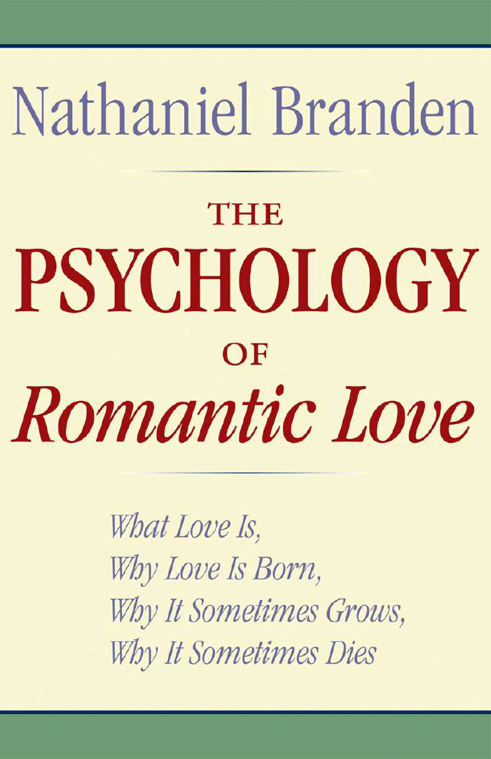 Title details for The Psychology of Romantic Love by Nathaniel Branden - Available