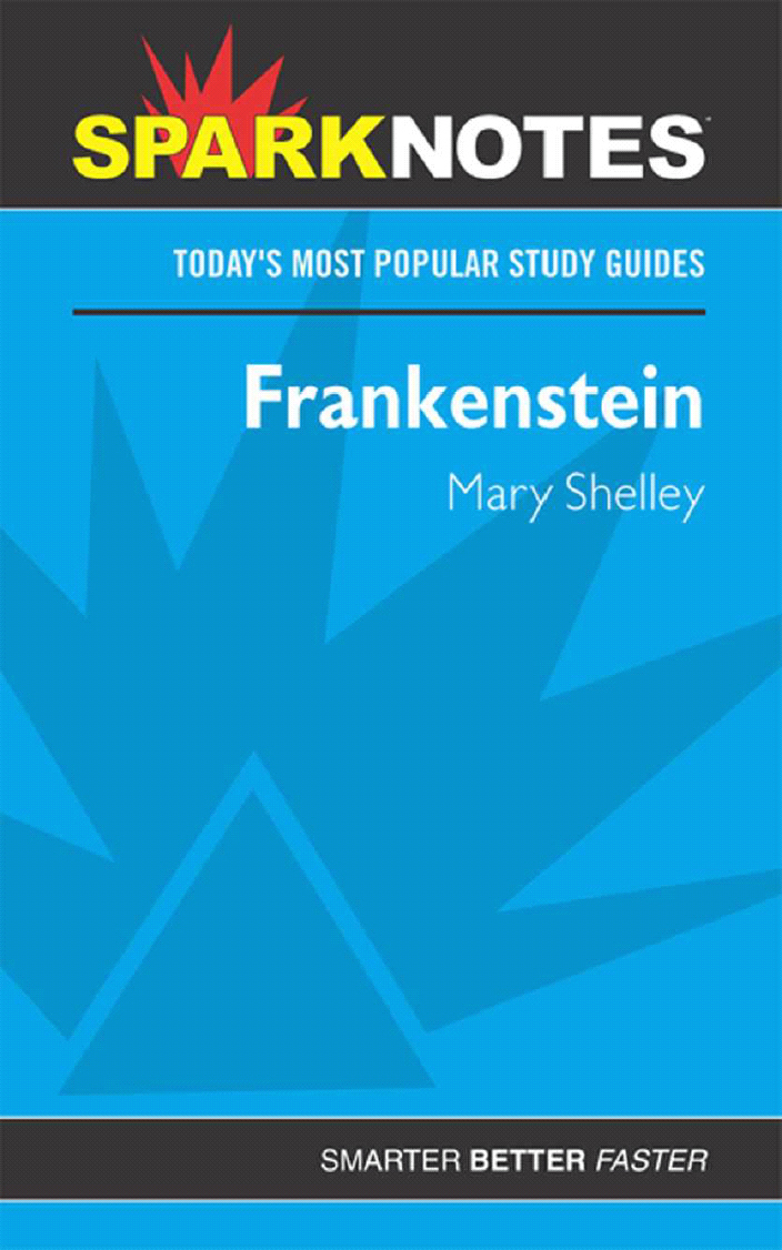 Le Details For Frankenstein Sparknotes By Available