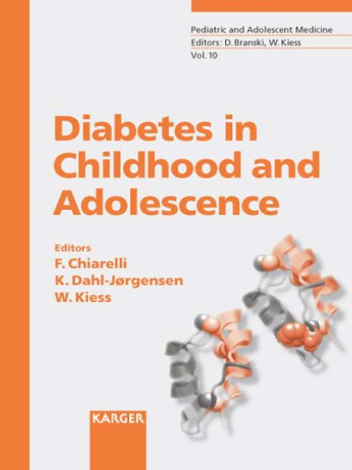 Title details for Diabetes in Childhood and Adolescence by Francesco Chiarelli - Available