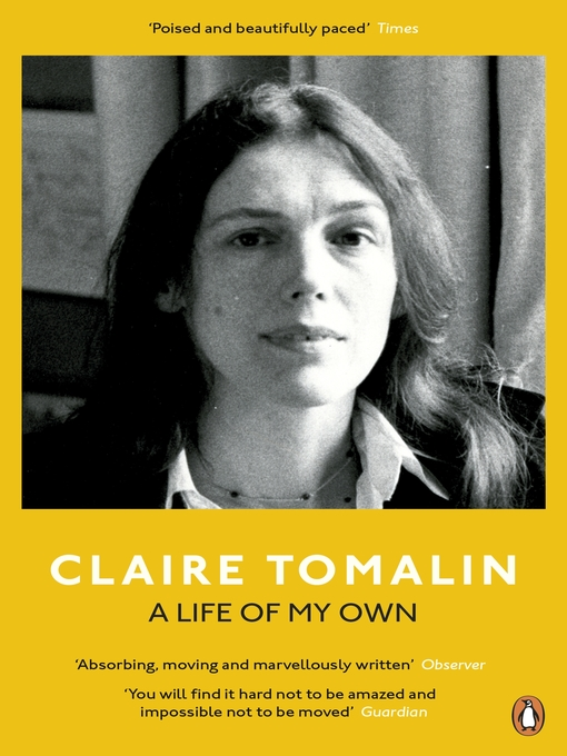 Title details for A Life of My Own by Claire Tomalin - Wait list