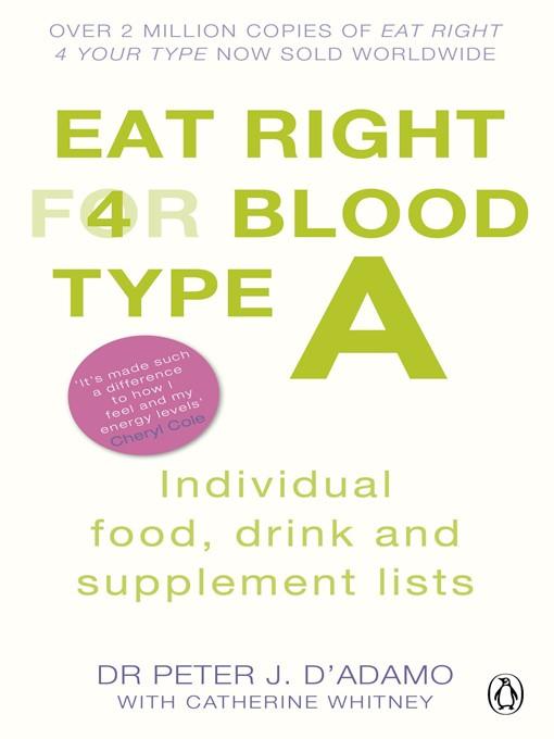 D Adamo Blood Type A Food List