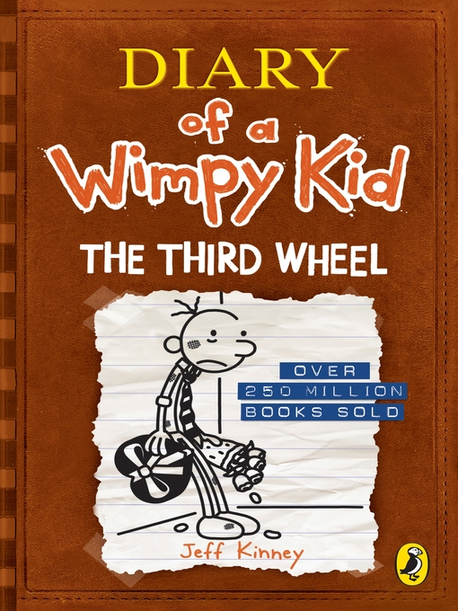 Title details for The Third Wheel by Jeff Kinney - Available