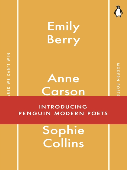 Title details for Penguin Modern Poets 1 by Emily Berry - Wait list