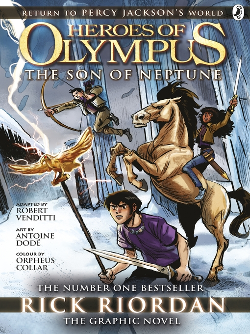 The Son of Neptune, The Graphic Novel The Heroes of Olympus Series, Book 2