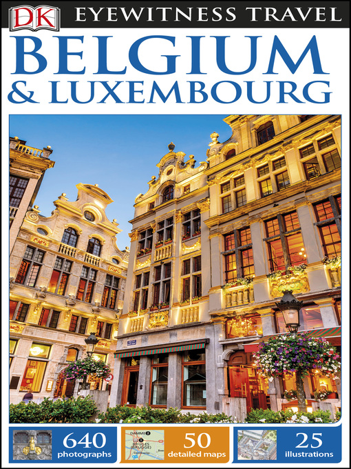 Cover of DK Eyewitness Travel Guide Belgium and Luxembourg