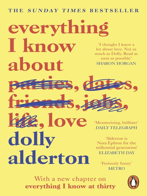 Title details for Everything I Know About Love by Dolly Alderton - Available