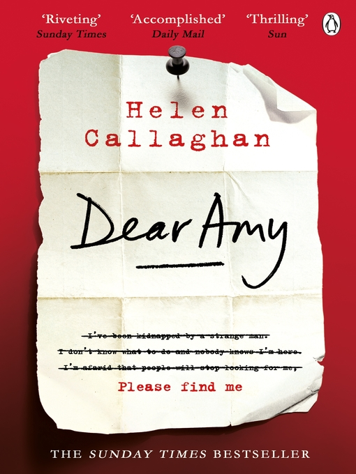 Title details for Dear Amy by Helen Callaghan - Wait list