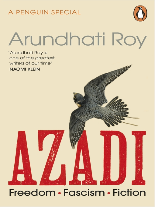 Title details for AZADI by Arundhati Roy - Available
