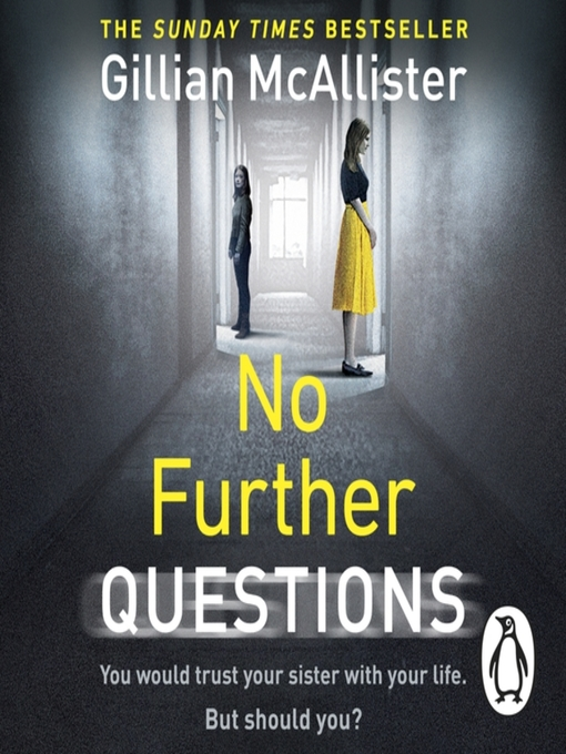 Title details for No Further Questions by Gillian McAllister - Available
