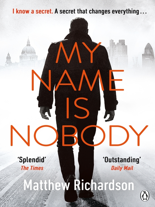 Title details for My Name Is Nobody by Matthew Richardson - Wait list