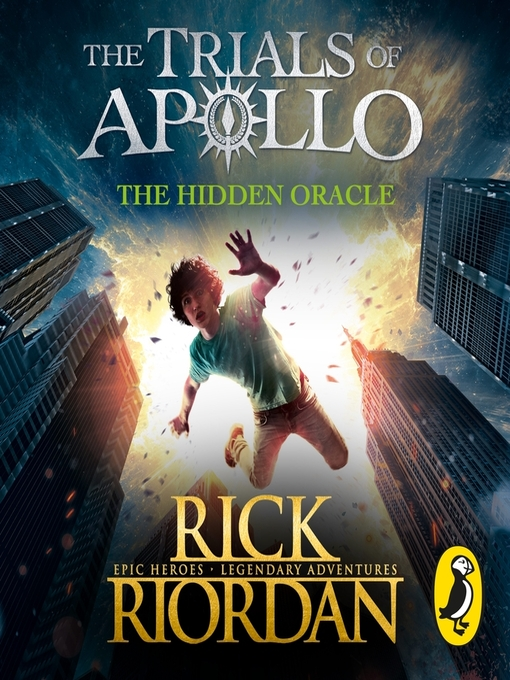 Cover of The Hidden Oracle (The Trials of Apollo Book 1)