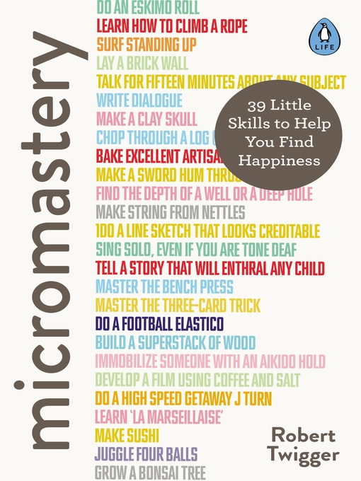 Title details for Micromastery by Robert Twigger - Wait list