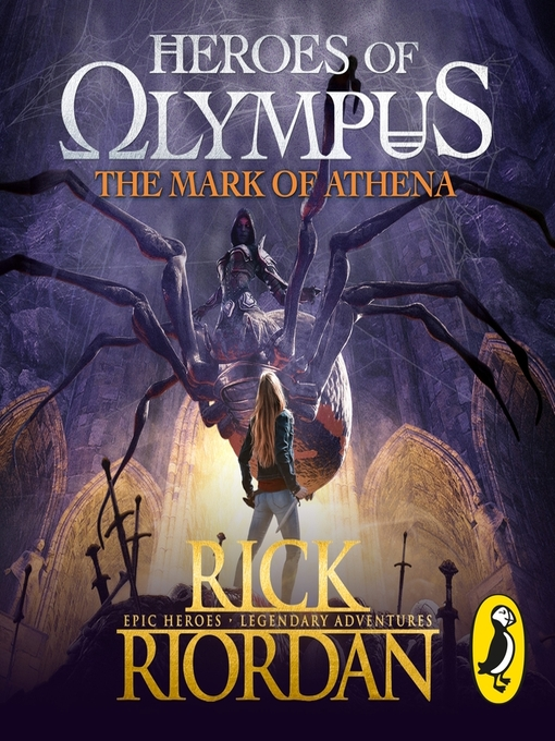 Title details for The Mark of Athena (Heroes of Olympus Book 3) by Rick Riordan - Wait list