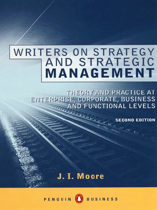 historical development of strategic management as