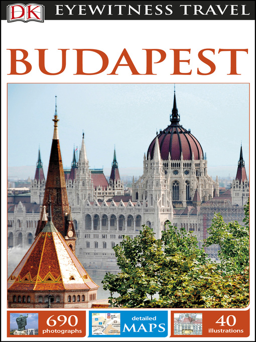 Cover of DK Eyewitness Travel Guide Budapest