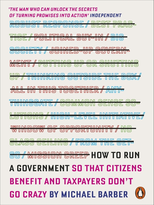 Cover of How to Run a Government