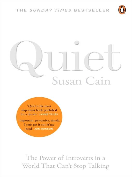 Title details for Quiet by Susan Cain - Wait list