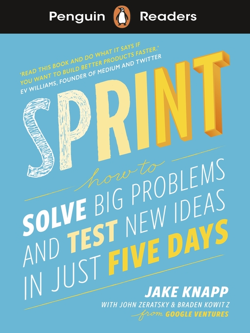 Title details for Sprint by Jake Knapp - Available