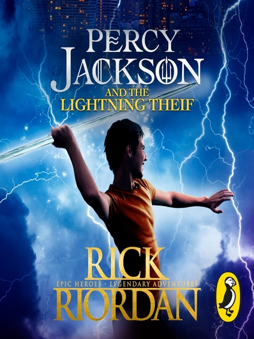 Title details for Percy Jackson and the Lightning Thief by Rick Riordan - Wait list