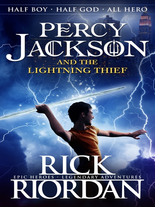percy jackson and the lightning thief national library board