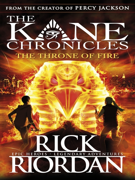 Title details for The Throne of Fire by Rick Riordan - Wait list