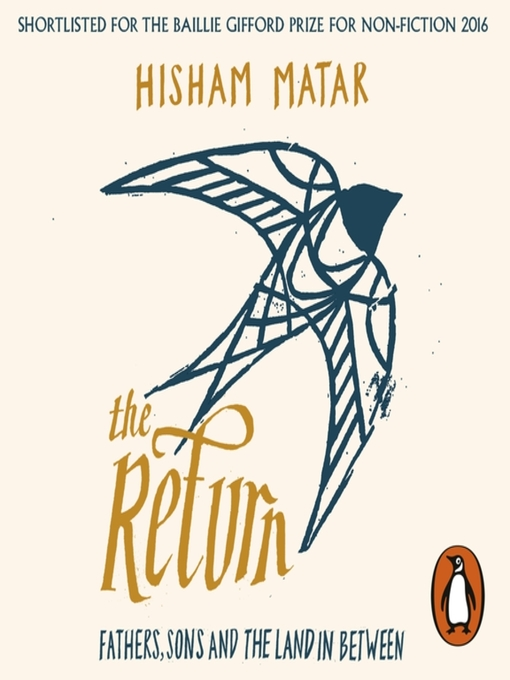 Title details for The Return by Hisham Matar - Wait list