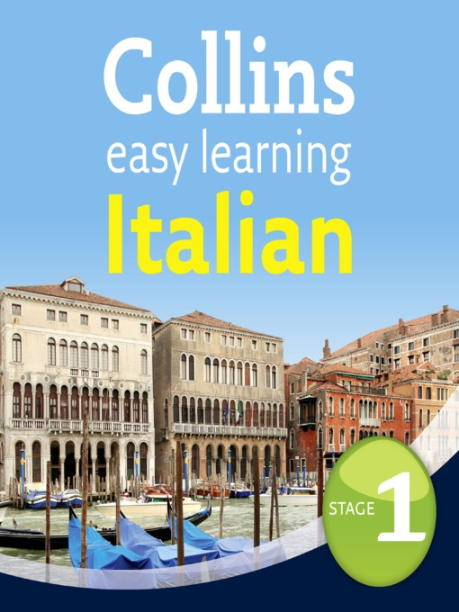 Title details for Italian Easy Learning, Level 1 by Collins Dictionaries - Available