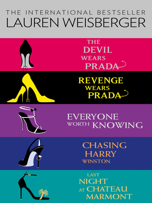 Title details for Lauren Weisberger 5-Book Collection by Lauren Weisberger - Wait list