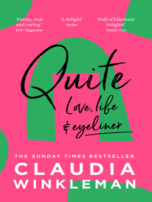 Title details for Quite by Claudia Winkleman - Wait list