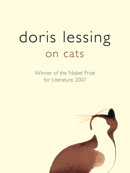 Title details for On Cats by Doris Lessing - Available