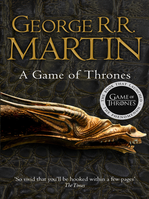 Title details for A Game of Thrones by George R.R. Martin - Wait list