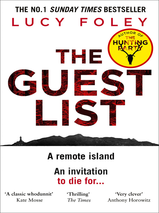 Title details for The Guest List by Lucy Foley - Wait list