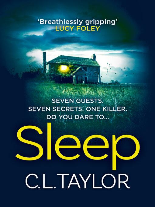 Title details for Sleep by C.L. Taylor - Wait list