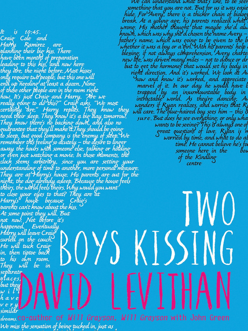 Title details for Two Boys Kissing by David Levithan - Available