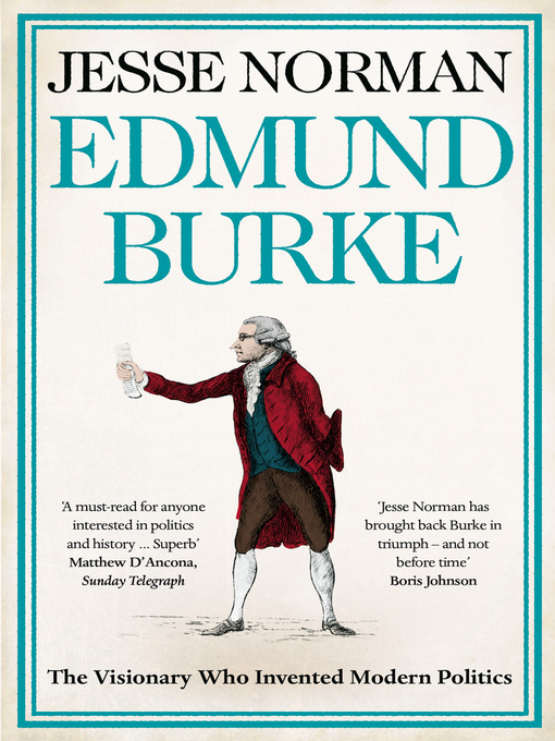 Cover of Edmund Burke